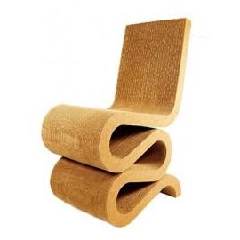 Krzesło inspirowane Wiggle Side Chair