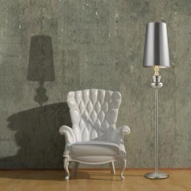 BAROCO silver lampa podłogowa