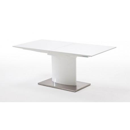 MARSALA stół biały lakierowany rozkładany