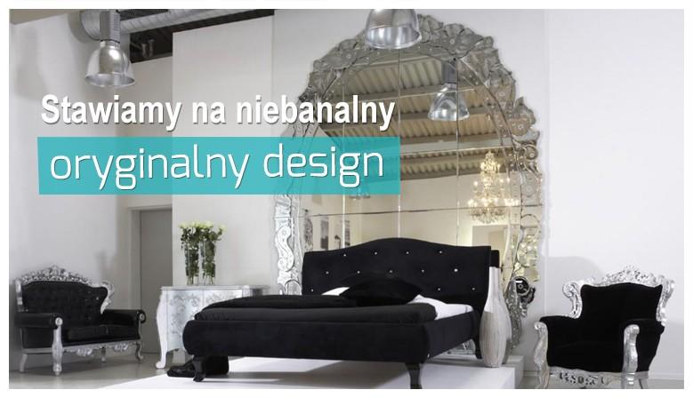 Łóżka designerskie
