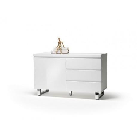 San Marino komoda biała lakier