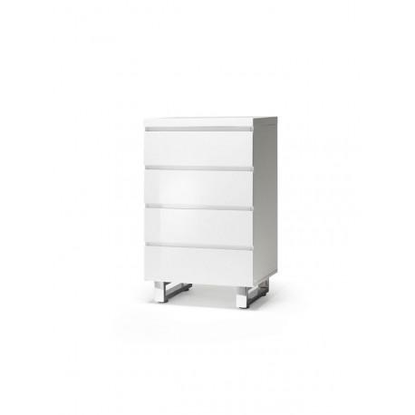 San Marino komoda z szufladami biała