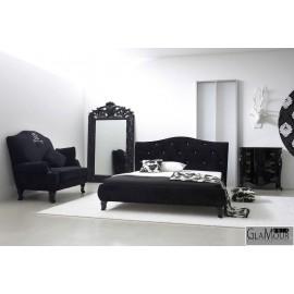 Ekskluzywne łóżko w stylu Glamour Milano