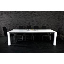 Stół rozkładany biały lakierowany X7