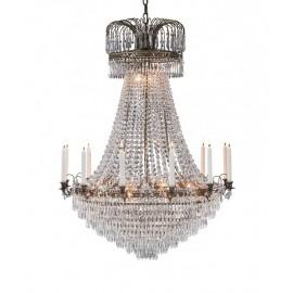 Wielka lampa kryształowa
