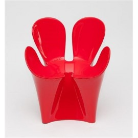 Fotel Dłoń czerwone