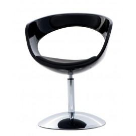 Fotel FLOP K- czarny S- czarne