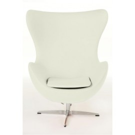 Fotel Jajo biały kaszmir K3