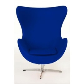 Fotel Jajo niebieski kaszmir 23