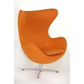 Fotel Jajo pomarańczowy kaszmir 11