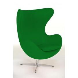 Fotel Jajo zielony kaszmir 20
