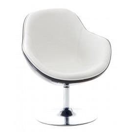 Fotel Pezzo K- czarny S-białe