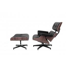 Krzesło Viva biały z brązową poduszką