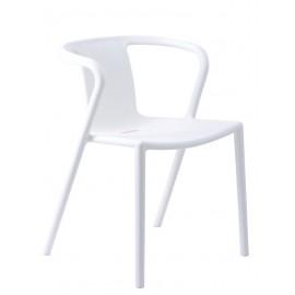 Krzesło Bent białe