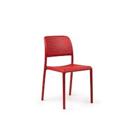 Krzesło Bora czerwone
