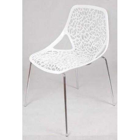 Krzesło Cepelia białe