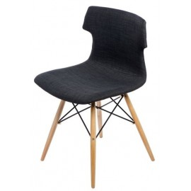 Krzesło Techno DSW tap. grafitowe