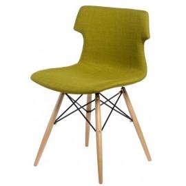 Krzesło Techno DSW tapicerowane oliwkowe
