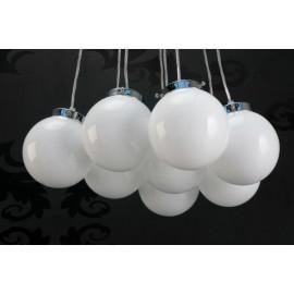 Lampa Białe Perły L kule śr. 15cm