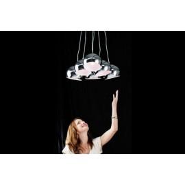 Lampa Chromowane Perły M 14 cm