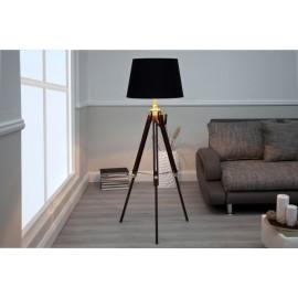 Lampa podłogowa Paura drewno