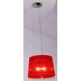 Lampa wisząca Classic czerwona