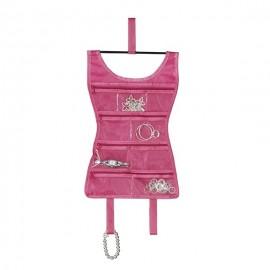 Organizer biżuterii Sukienka Mini różowa