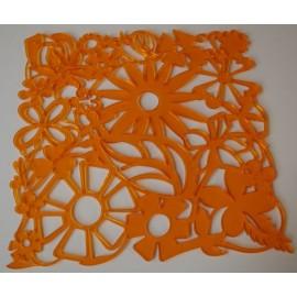 Room divider pomarańczowy