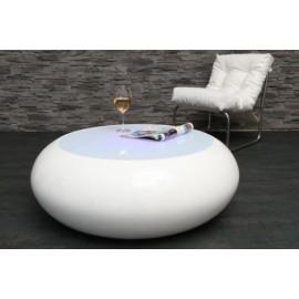 Stolik Spin Lumino biały