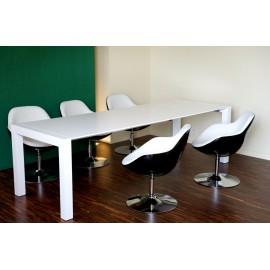 Stół X7 biały mat rozkładany 170x260