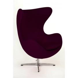 Fotel Jajo fioletowy kaszmir 32 Premium