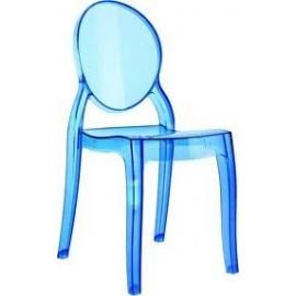 Krzesło Baby Mia niebieski transparent