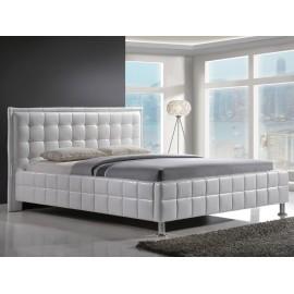 Białe nowoczesne łóżko Malaga