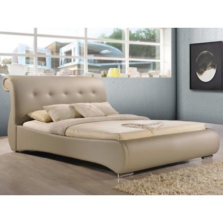 Mokka nowoczesne łóżko do sypialni