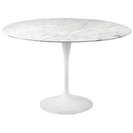 Stół Fiber o90 marmur