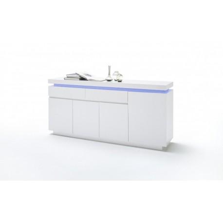 Bufet biały LED Oceana komoda do jadalni II