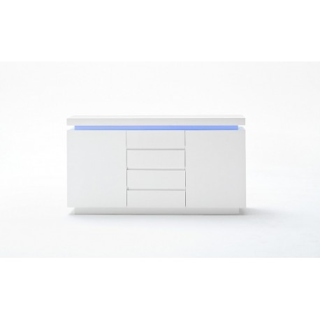 Bufet biały LED Oceana komoda do jadalni III