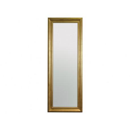 Lustro w złotej ramie 60x160