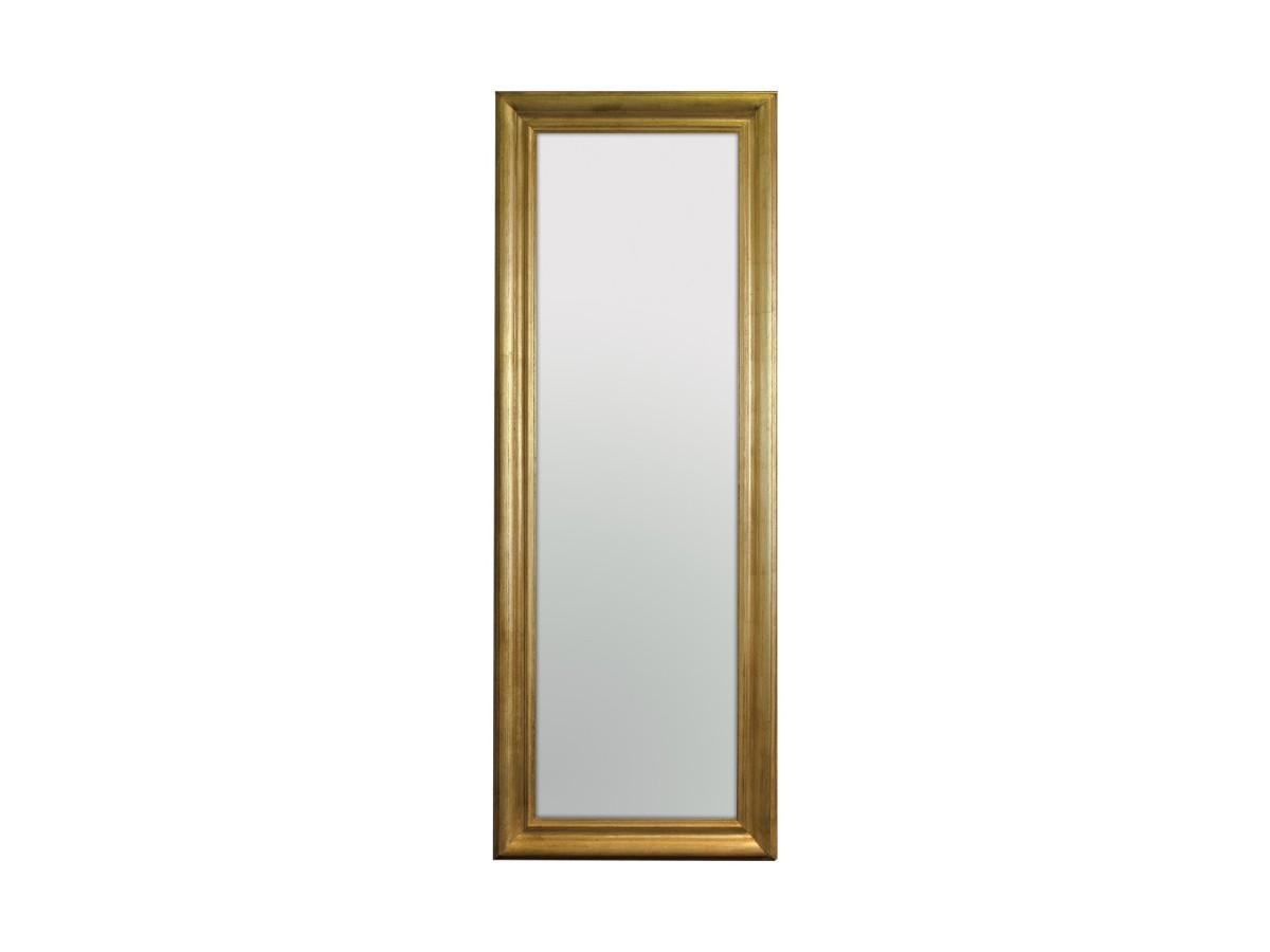 Lustro W Złotej Ramie 60x160 Mebleglamourpl