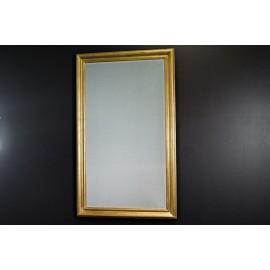 Lustro w złotej ramie 90x150