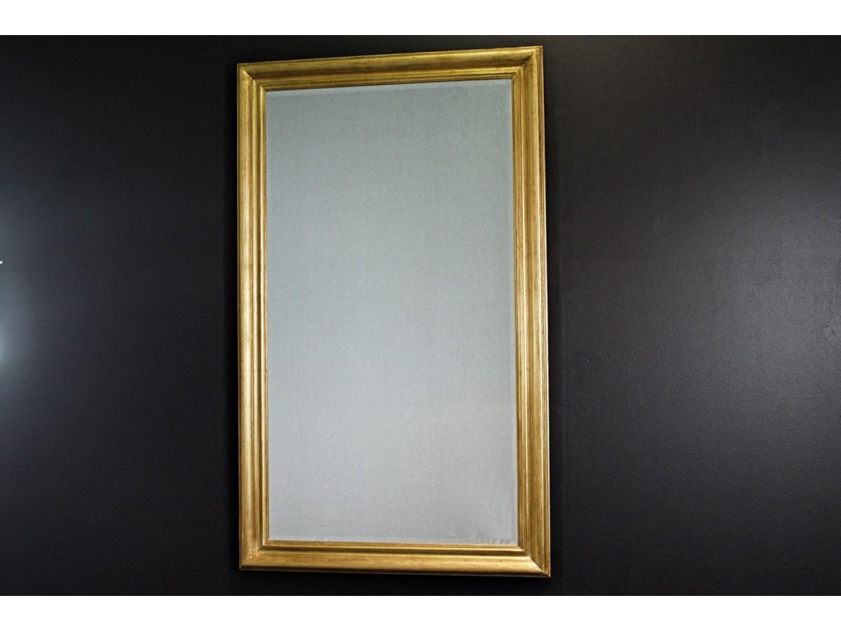 Lustro W Złotej Ramie 90x150 Mebleglamourpl
