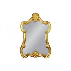 Eleganckie złote lustro 61x90cm