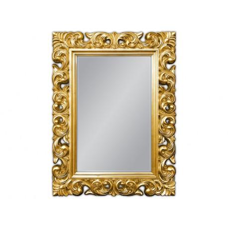 Lustro w złotej ramie 91x121