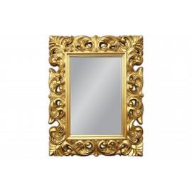 Lustro w złotej ramie 70x90