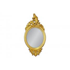 Ozdobne lustro w złotej ramie 61x123cm