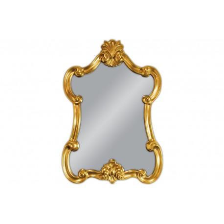 Ozdobne lustro w złotej ramie 79x113cm