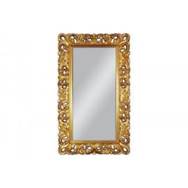 Lustro barokowe w złotej ramie 88x148cm