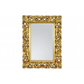 Eleganckie lustro złta rama 62x85cm