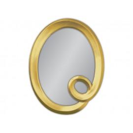 Złote lustro w ozdobnej ramie 74x94cm