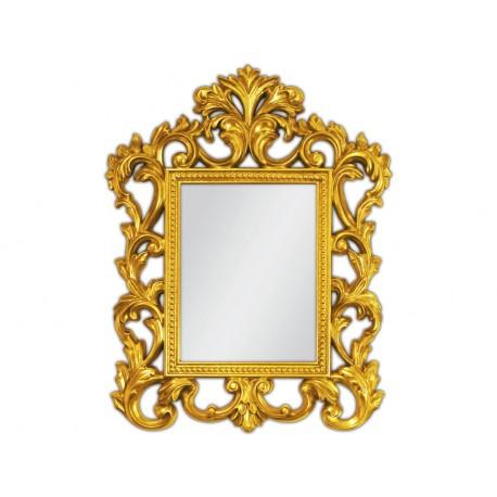 Eleganckie lustro złota rama 55x70cm